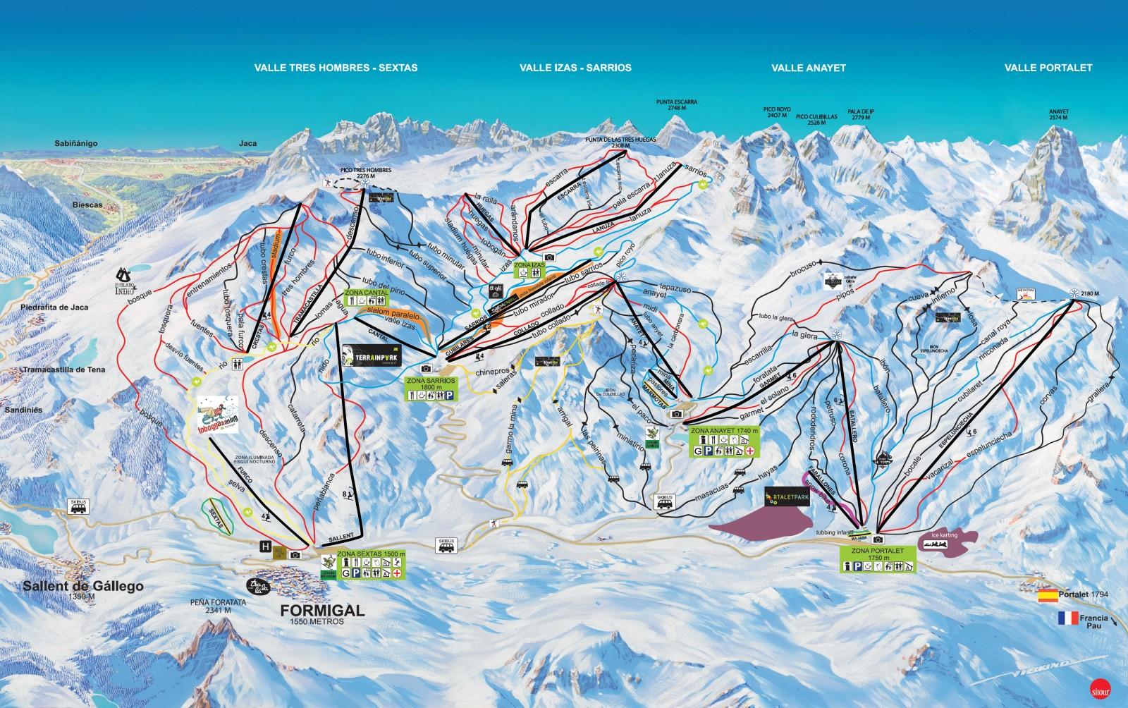 Formigal Estaciones De Esqui De Pirineo Aragones Www Abc Es