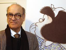 Mafalda, el popular personaje de Quino, llega al metro de Buenos Aires - photo at ABC.es