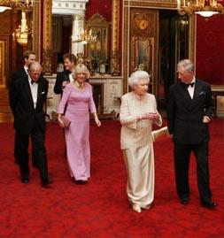 El príncipe Carlos celebra su 60 cumpleaños acompañado de la realeza europea