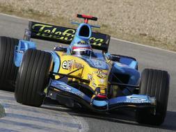 El coche de Alonso, en venta