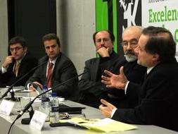 Manuel Erice defiende en Navarra que «Internet no es el problema, sino la solución para el periodismo»