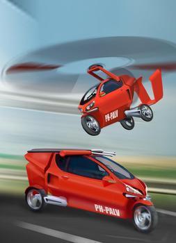 Llega el «coche volador»