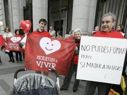 Clínicas abortistas piden prohibir las concentraciones provida en sus centros