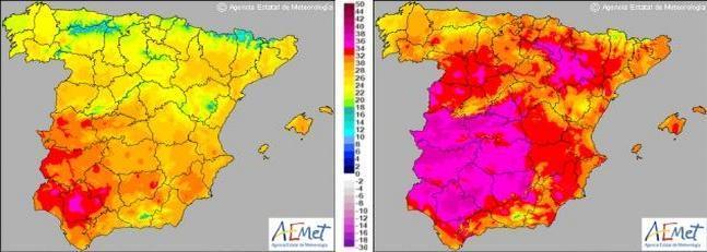 Los termómetros subirán hasta diez grados en los próximos dos días