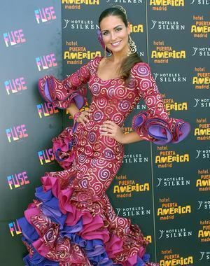Miss España prepara el vestuario  para optar a Miss Universo