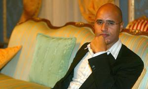 El hijo del dictador Gadafi pide más democracia global en su tesis doctoral