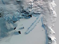 El retroceso de los glaciares, desde el espacio