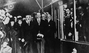 1919: inauguración del Metro