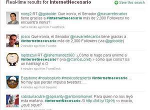 Twitter «tumba» un impuesto en México