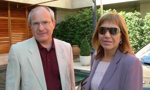 Montilla y su esposa