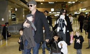 Angelina Jolie adoptará más niños sola si Brad Pitt no quiere
