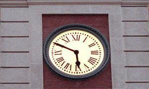 1866 se inaugura el reloj de la puerta del sol madrid for El reloj de la puerta del sol