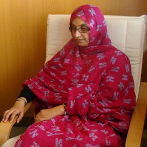 Aminatu Haidar, agotada y con riesgo de deterioro «irreversible» de salud