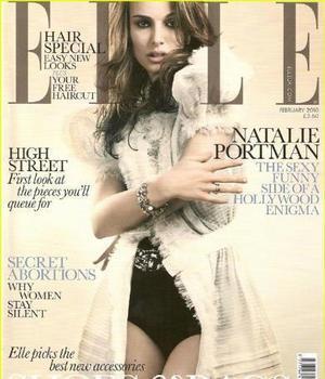 Natalie Portman se «desnuda» para Elle