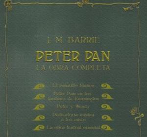 «Peter Pan, la obra completa»