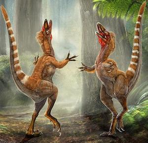 De que color eran los dinosaurios?