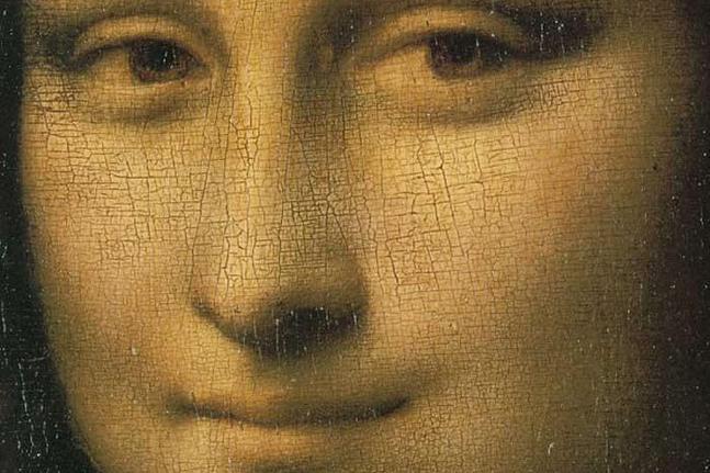 La sonrisa de Mona Lisa es un truco
