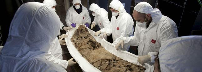 Pedro III de Aragón fue embalsamado y era más alto que sus  contemporáneos