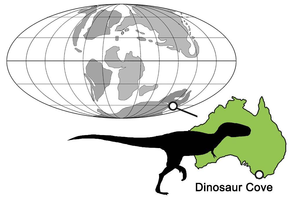 Los tiranosaurios llegaron hasta Australia
