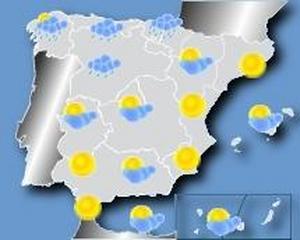 Mapa Del Tiempo España Fin De Semana.El Tiempo En Semana Santa Lluvia Y Frio En El Norte Y Mucho