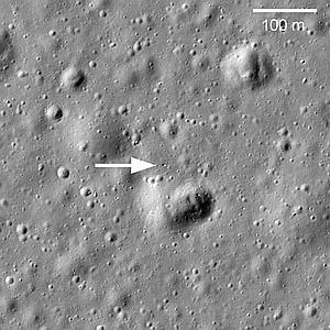 Hallan un objeto ruso perdido en la Luna hace 40 años