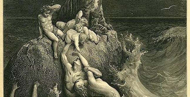 El diluvio universal no es cosa de ciencia ficción
