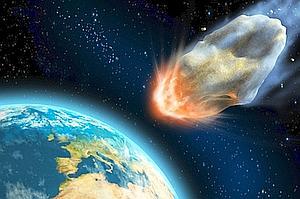 Resultado de imagen de La caída de grandes asteroides