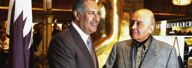 Al Fayed vende los almacenes Harrods a la la familia real qatarí  por más de 1.700 millones de euros