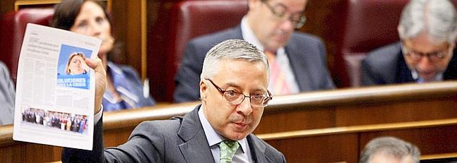 José Blanco se crece y ya ejerce de vicepresidente