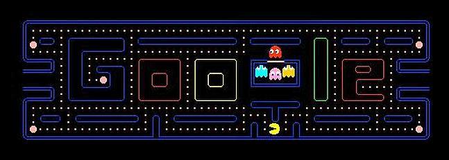 El logo de Google se convierte en un videojuego