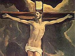 «Cristo crucificado, con Toledo al fondo», de El Greco /ABC