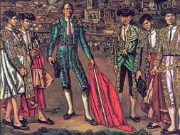 «El lechuga y su cuadrilla», de José Gutiérrez Solana /ABC