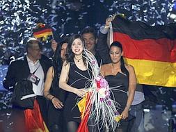 Un espontáneo se cuela en la actuación de Daniel Diges en Eurovisión