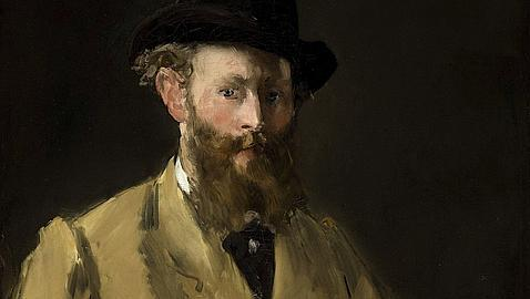 Autorretrato de Manet. EFE