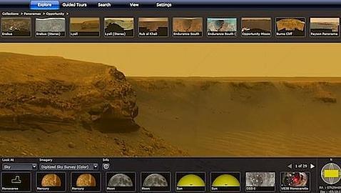 Explorando Marte sin salir de casa