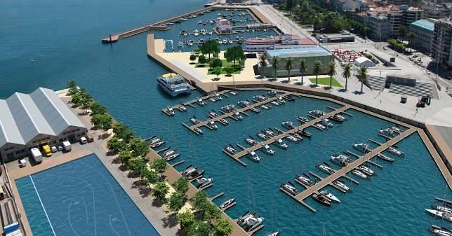 Vigo encara la renovaci n de sus puertos deportivos - Cines puerto deportivo getxo ...