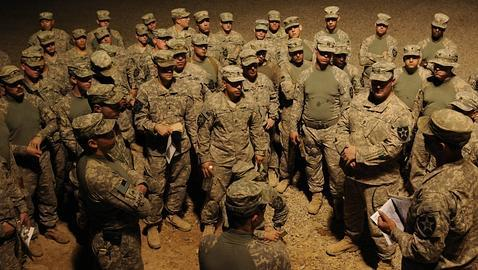La última brigada de EE. UU. abandona Irak