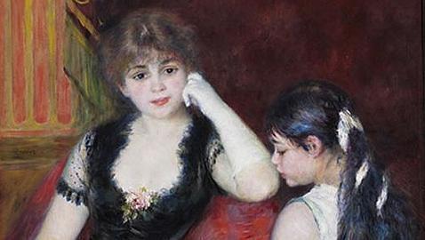 «Palco en el teatro», de Renoir. Sterling & Francine Clark Institute
