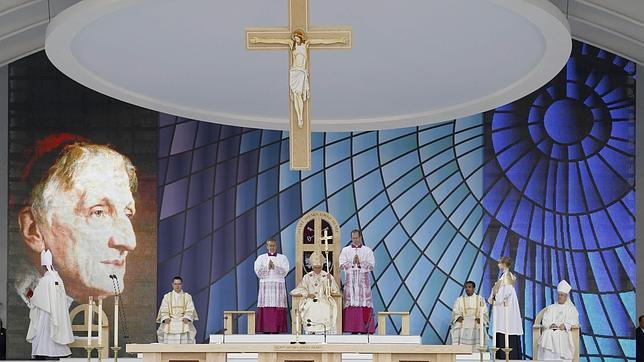 Resultado de imagen de beatificacion newman