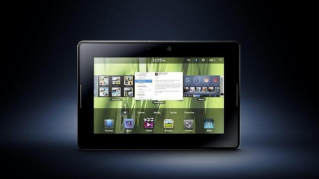 BlackBerry desvela PlayBook, su «tableta» para competir con el iPad