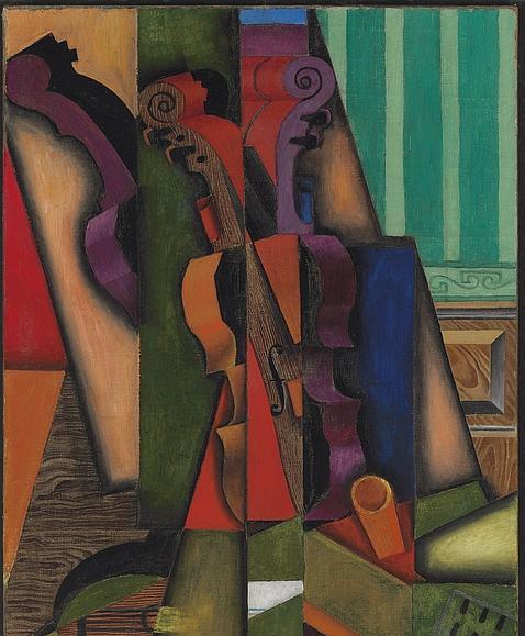 «Violin et guitarre», de Juan Gris. EFE