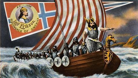 Leif Erikson, uno de los exploradores vikingos que se cree llegaron a América