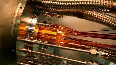 Recreación del experimento para atrapar antimateria