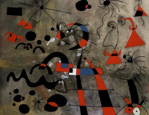 «La escalera de la evasión», de Joan Miró