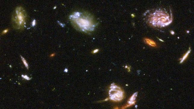 Resultado de imagen de El universo profundo en expansión