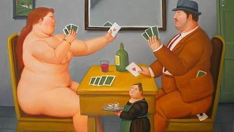 Cuadro inédito de Botero, entre las piezas robadas