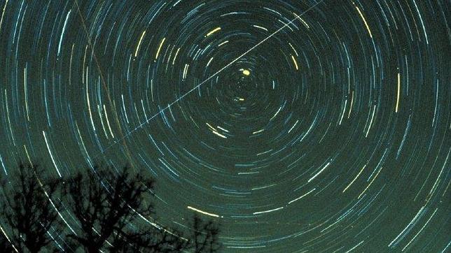 Lluvia de estrellas esta noche