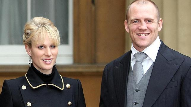Matrimonio Zara Phillips : Otra boda en la familia real británica zara phillips se