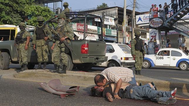 victimas militares: