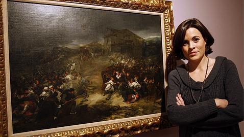 María López, directora del museo Thyssen de Málaga. ERNESTO AGUDO